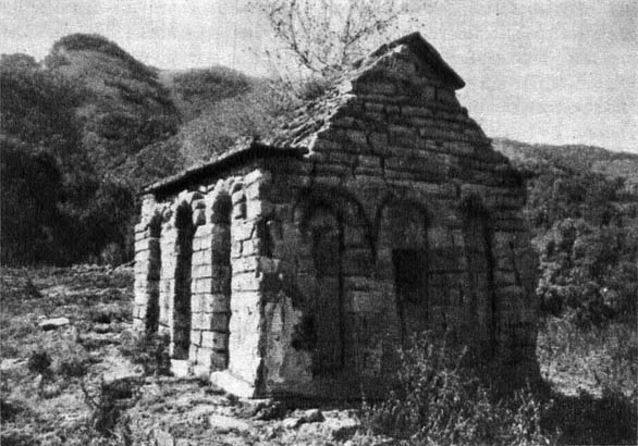 Сентинский мавзолей. X в. (?)